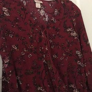 Mossimo Supply Co. Tops - Fred floral shirt